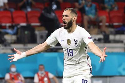 Καρίμ Μπενζεμά: Γκολ με τη Γαλλία 2.085 μέρες μετά - O γηραιότερος με πάνω από ένα τέρμα σε ματς μεγάλης διοργάνωσης για τους «τρικολόρ»!