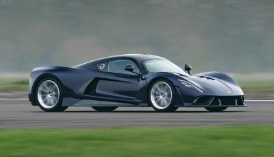 To Hennessey Venom F5 των 1.843 ίππων πιάνει πάνω από 500 χλμ./ώρα