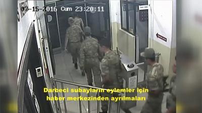 Η Άγκυρα δημοσιοποιεί βίντεο με τους 8 Τούρκους αξιωματικούς τη βραδιά του πραξικοπήματος
