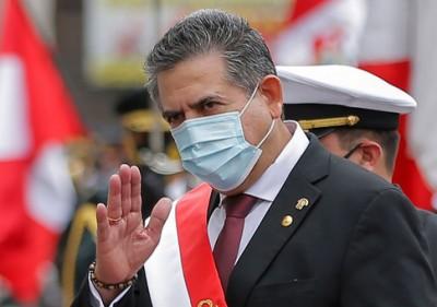 Περού: Παραιτήθηκε ο μεταβατικός πρόεδρος Manuel Merino