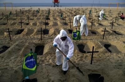 Στο έλεος του β' κύματος της covid η Βραζιλία – Καταρρέει το σύστημα υγείας
