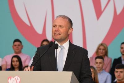 Muscat (πρωθ. Μάλτας): Ιστορική νίκη των Σοσιαλδημοκρατών στις ευρωεκλογές