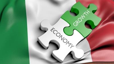 Ιταλία: Προς θετική αναθεώρηση της πρόβλεψης για ανάπτυξη άνω του 5% για το 2021