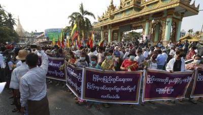 ΟΗΕ: Το καθεστώς στη Μιανμάρ κάνει χρήση φονικής βίας κατά ειρηνικών διαδηλωτών