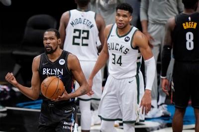Brooklyn Nets - Milwaukee Bucks 114-108: Ο συγκλονιστικός Durant έκανε το 3-2 για τους Νεοϋορκέζους (video)