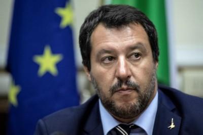 Ιταλία: Με αυγά «υποδέχτηκαν» τον Salvini σε πόλη όπου επιβλήθηκε lockdown