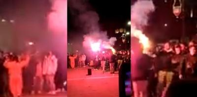 Ξάνθη: Δεκάδες καρναβαλιστές ξεχύθηκαν στους δρόμους, παρά το lockdown