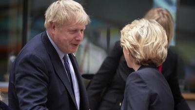 Κρίσιμη συνάντηση Johnson με von der Leyen αύριο (8/1) - Η Βρετανία πιέζει για άμεση συμφωνία