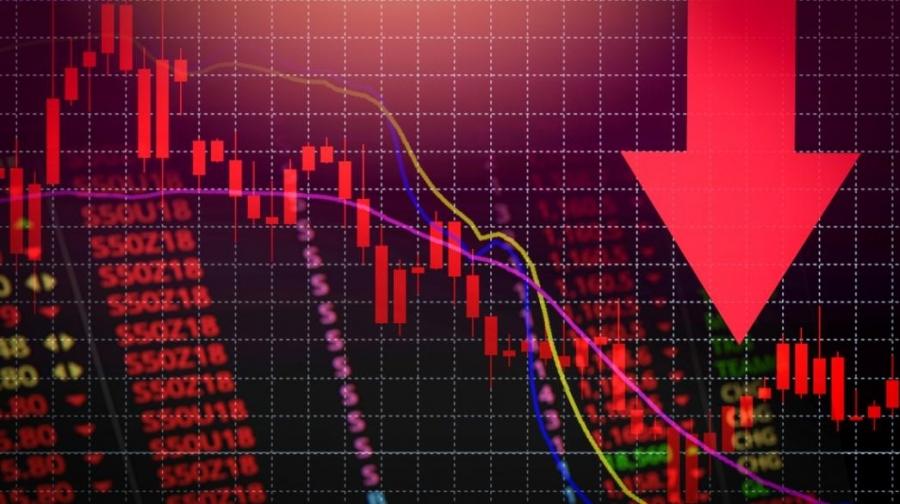 Στο «κόκκινο» οι αγορές - Στο επίκεντρο Evergrande και Fed - Πιέσεις στη Wall, πτώση -1,7% ο S&P, στο -2,19% o Nasdaq