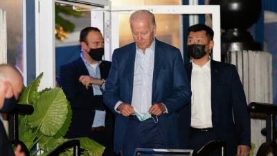 Ο Joe Biden και η σύζυγος του παραβίασαν τα μέτρα κατά του κορωνοϊού