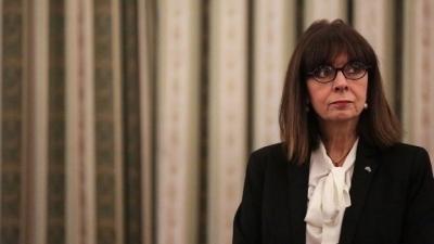 Σακελλαροπούλου: Η ισότητα των φύλων παραμένει μια ανοιχτή και απαιτητική πρόκληση