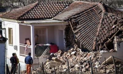 Λάρισα: Φτάνουν 40 τροχόσπιτα και είδη πρώτης ανάγκης για τους σεισμόπληκτους
