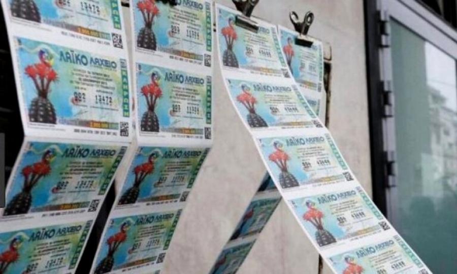 Το Λαϊκό Λαχείο μοίρασε περισσότερα από 2,3 εκατ. ευρώ τον Ιούλιο