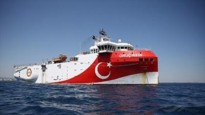 Συνεχίζει τις προκλήσεις η Τουρκία - Παρέτεινε την NAVTEX για Oruc Reis έως 23/11 - Αυστηρό διάβημα της Ελλάδας