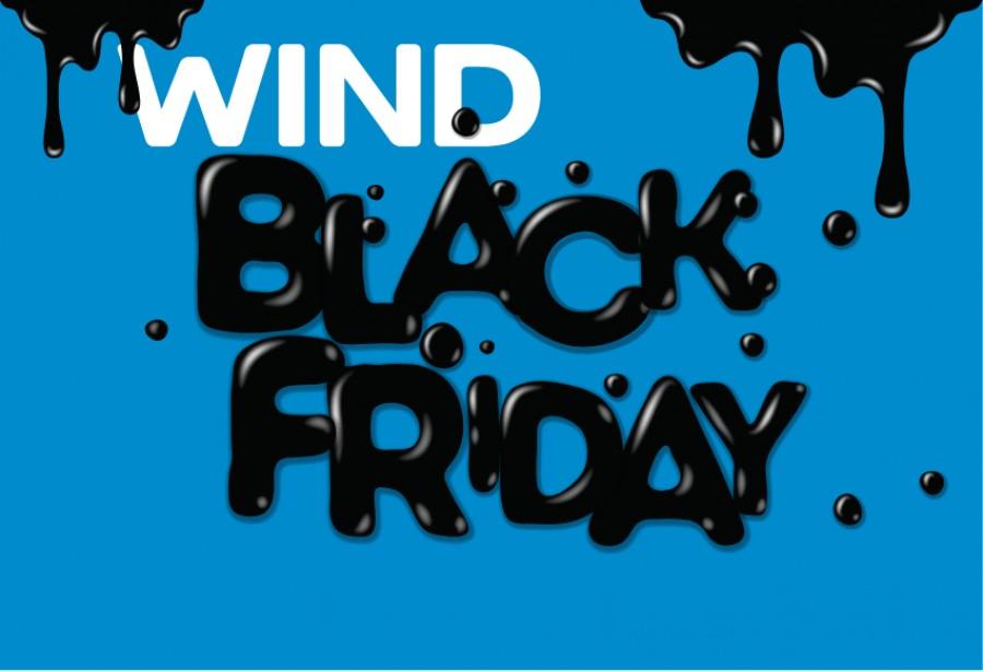 Black Friday με προσφορές έως -85% από την Wind