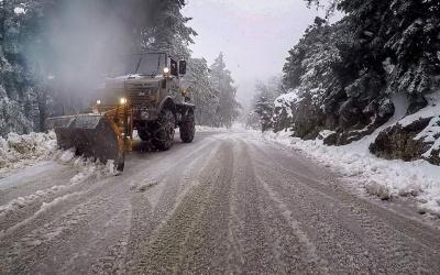 Κλειστοί οι δρόμοι προς την Πάρνηθα λόγω «Ηφαιστίωνα»