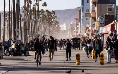 Η Καλιφόρνια στο επίκεντρο της πανδημίας του κορωνοΐου - Ρεκόρ κρουσμάτων για 2η συνεχόμενη ημέρα