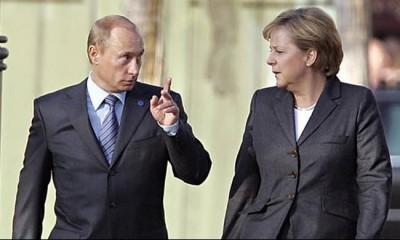 H Merkel «ανοιχτή» στο ενδεχόμενο παραγωγής του ρωσικού εμβολίου στην ΕΕ - H επικοινωνία με τον Putin