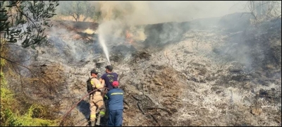 Υπό έλεγχο η πυρκαγιά στο Αργάσι Ζακύνθου - Συνελήφθη ύποπτος για εμπρησμό
