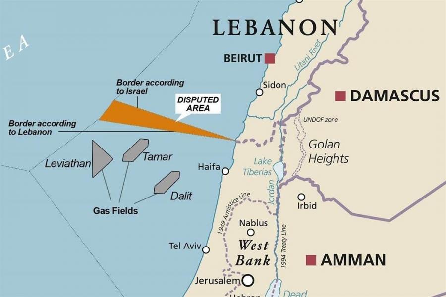 Επανέναρξη διαπραγματεύσεων Λιβάνου και Ισραήλ για οριοθέτηση της ΑΟΖ τους