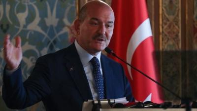 Νέες απειλές από Τουρκία - Soylu: Δεν είμαστε «αποθήκη μεταναστών» της Δύσης