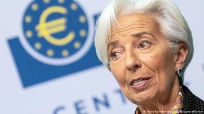 Lagarde (ΕΚΤ): Γρηγορότερη του αναμενομένου η ανάκαμψη, αλλά πολύ πρόωρη η συζήτηση για άρση των μέτρων