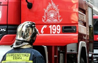 Θεσσαλονίκη: Φωτιά σε ξηρά χόρτα στον Λαγκαδά