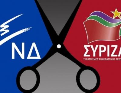 Δημοσκόπηση Pulse: Προβάδισμα 16 μονάδων για ΝΔ - Προηγείται με 37% έναντι 22% του ΣΥΡΙΖΑ