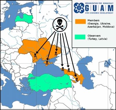 Προπύργιο των ΗΠΑ κατά της Ρωσίας οι χώρες του Οργανισμού GUAM - Σκληρό πόκερ