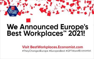 Στη λίστα Best Workplaces in Europe 11 ελληνικές εταιρείες