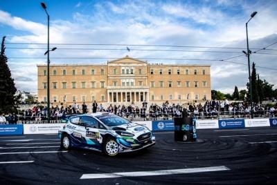 """""""COSMOTE 5G ATHENS STAGE"""": Εντυπωσιακή η ειδική διαδρομή του ΕΚΟ Ράλλυ Ακρόπολις για πρώτη φορά στην καρδιά της Αθήνας"""