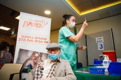 Ισραήλ: Παραχωρεί 5.000 εμβόλια στους Παλαιστινίους μετά από παρέμβαση ΟΗΕ και ΠΟΥ