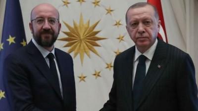 Επικοινωνία Michel με Erdogan, ενόψει τηλεδιάσκεψης των ΥΠΕΞ της ΕΕ (14/8)