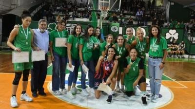 Παναθηναϊκός: Βραβεύτηκαν και αποθεώθηκαν οι πρωταθλήτριες Ελλάδας