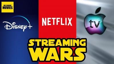 O «πόλεμος του streaming» - Στα 167 εκατ. οι συνδρομητές του Netflix - Disney+ και Apple εντείνουν τον ανταγωνισμό