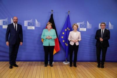 Επικοινωνία Merkel με von der Leyen και Sassoli για το Ταμείο Ανάκαμψης