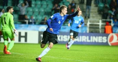 Εσθονία – Βέλγιο 1-0: Ο Ματίας Κάιτ το πρώτο γκολ της βραδιάς, μετά από 120 δευτερόλεπτα! (video)