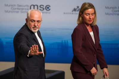 Zarif (Ιράν): Είχαμε εποικοδομητικές συνομιλίες με την ΕΕ για την πυρηνική συμφωνία