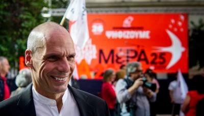 Βαρουφάκης: Μικρή πολιτική επανάσταση τα ποσοστά μας – Είμαστε έτοιμοι για εκλογές