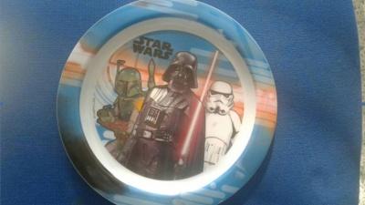 ΕΦΕΤ:  Ανάκληση πιάτου μελαμίνης με παράσταση «Star Wars»