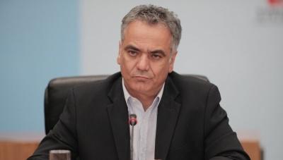 Σκουρλέτης: Τυχόν πρόταση μομφής είναι αποφυγή από μία συζήτηση ουσίας για τη Συμφωνία των Πρεσπών