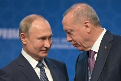 Putin προς Erdogan: Ευρεία ρωσική βοήθεια στην Τουρκία για την κατάσβεση των πυρκαγιών