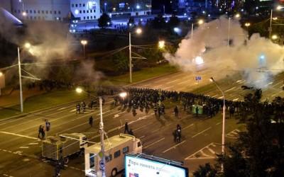 Λευκορωσία: Η αστυνομία απέκλεισε με συρματόπλεγμα κεντρικές πλατείες για να αποτρέψει αντικυβερνητικές διαδηλώσεις