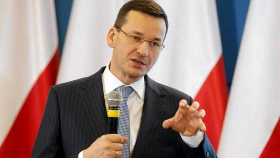Morawiecki (Πολωνία): Επιβεβαίωσα στην καγκελάριο Merkel τη βούλησή μας να ασκήσουμε veto σε Ταμείο Ανάκαμψης - προϋπολογισμό ΕΕ