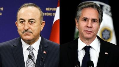 DW: Βαθαίνει η κρίση ΗΠΑ - Τουρκίας - Η επικοινωνία Cavusoglu - Blinken