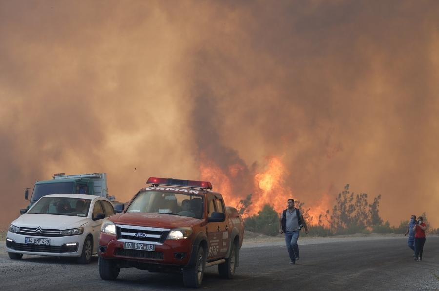 Τουρκία: Στους οκτώ οι νεκροί από τις καταστροφικές πυρκαγιές