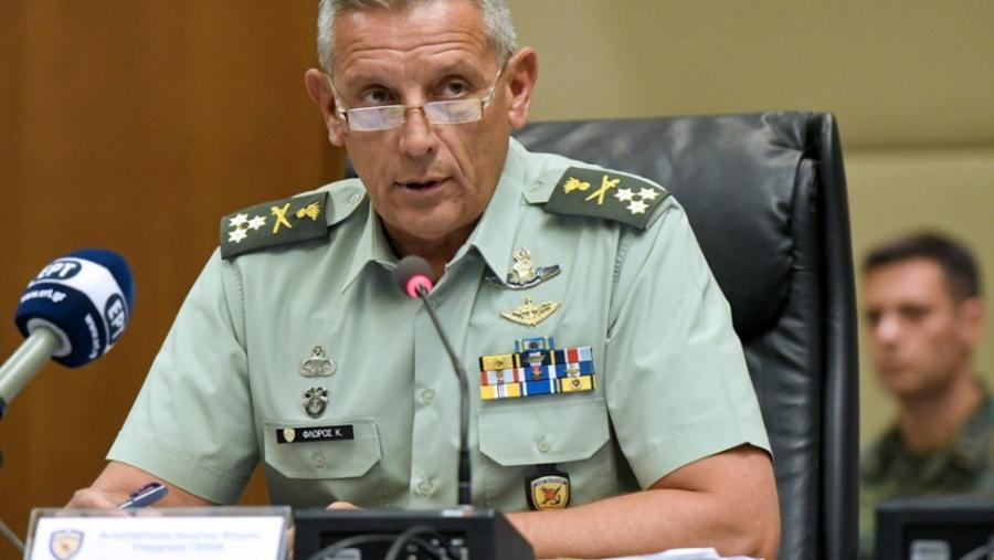 Αρχηγός ΓΕΕΘΑ: Οι Ένοπλες Δυνάμεις αναδεικνύουν την Ελλάδα σε πυλώνα σταθερότητας σε Αν. Μεσόγειο και Βαλκάνια