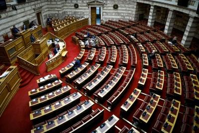 Ψηφίστηκε κατά πλειοψηφία το ν/σ για τον Ηρακλή 2 - Αντιπαράθεση κυβέρνησης και αντιπολίτευσης για NPLs