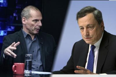 Βαρουφάκης: Ποτέ δεν είχα κόντρα και αντιπαλότητα με τον Mario Draghi