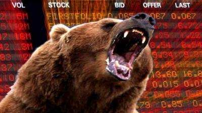 Μια «ανάσα» από την bear market Dow, S&P 500 και Ευρώπη - Απαισιόδοξα τα μηνύματα των αγορών για το 2019